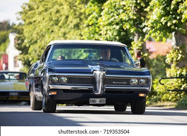 TROSA SWEDEN July 20, 2017. Pontiac Bonneville year 1968.