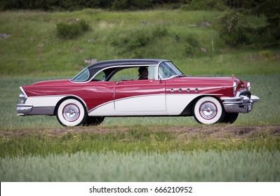 TROSA SWEDEN June 22, 2017. Buick Roadmaster, year 1955.