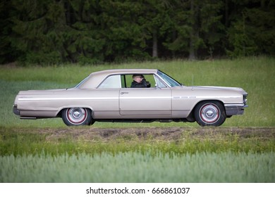 TROSA SWEDEN June 22, 2017. Buick Lesabre, 1964