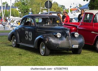 TROSA SWEDEN June 29, 2017. BUICK 46S. year 1939.