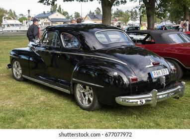 TROSA SWEDEN June 29, 2017. Dodge, year 1947.