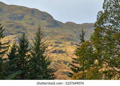 The Trossachs in Perthshire.