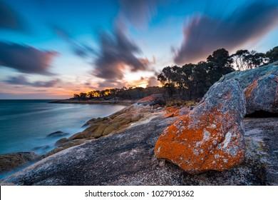 Trousers Point on Flinders Island, Tasmania
