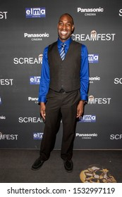 """Troy James attends 19th Annual Horror Film Festival - Screamfest - """"Rabid"""" Los Angeles Premiere - Arrivals at TCL Chinese Theatre, Hollywood, CA on October 16, 2019"""