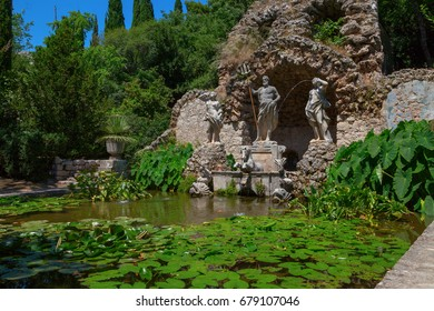 Trsteno Arboretum, Croatia, 3 July 2016: Game of Thrones Filiming Location