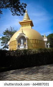 Truc Lam Temple, Da Lat, Vietnam - Shutterstock ID 664887031