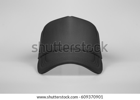 2a0ae341 Truck Drivers Cap Black Stock Photo (Edit Now) 609370901 - Shutterstock