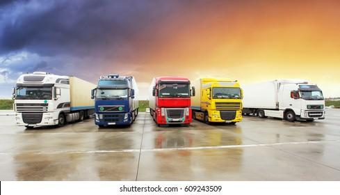 Truck, Freight transportation