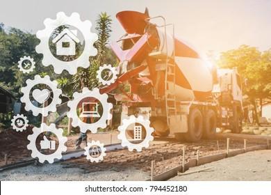Concrete Pump Images Stock Photos Amp Vectors Shutterstock