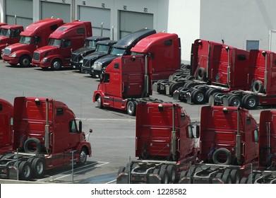 Truck Shipping Yard