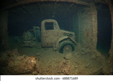 Truck from SS Thistlegorm