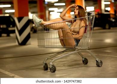 truck, supermarket, food, bitch, dish, tasty, Sexy, sexually, bitch, score, girl, model, urban, woman, ass, legs, relax, female, body, nice