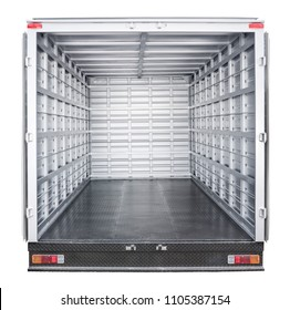 truck trailer interior