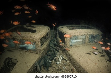 Trucks from SS Thistlegorm