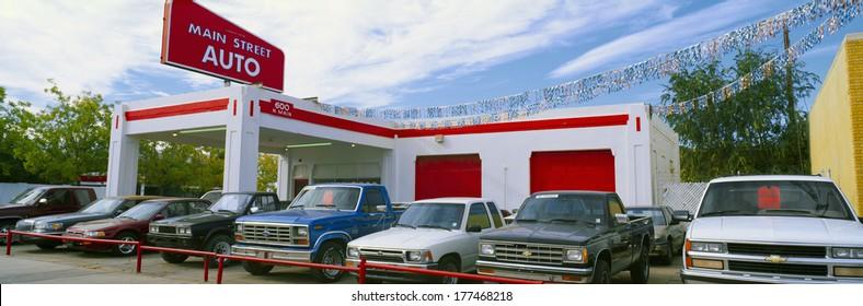 Aged Inventory Car Dealership