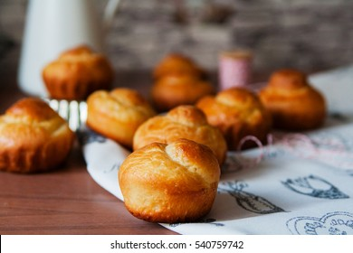 True brioche is a french bread rich with butter and eggs.