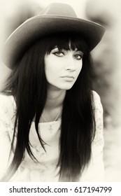 A true country girl closeup