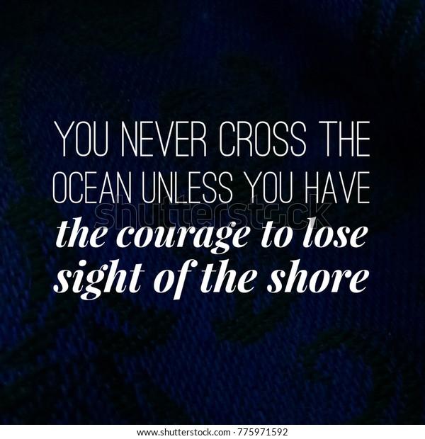 True Inspirational Motivational Quotes Life Stock Photo ...