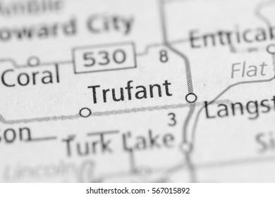 Trufant. Michigan. USA