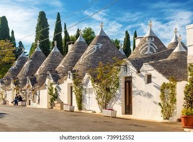 Trulli of Alberobello, Puglia, Italy
