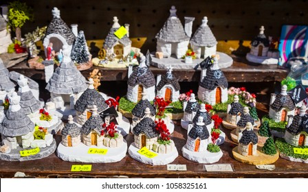 The Trulli di Alberobello is the most famous landmark of Puglia Region, south of Italy