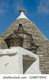 Trulli homes and buildings of Alberobello, Italy