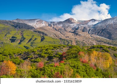 Truly magnificent panoramic views of the Mt.Tokachi range