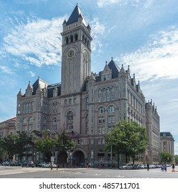 The Trump International Hotel in Washington, DC.