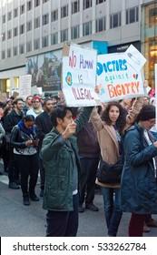 Trump Protests Manhattan November 2016