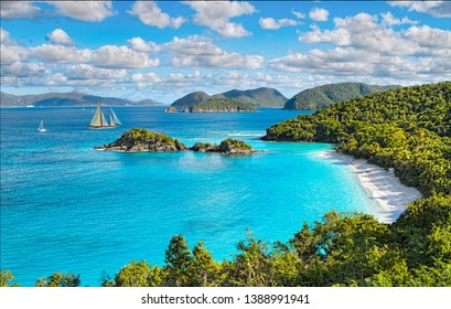 Trunk Bay Beach St John Island's most famous beach is also one of the most photographed beaches in the United States Virgin Islands.