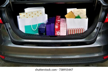 Trunk Full Of Purchases