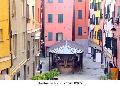 truogoli di santa Brigida, Genoa, italy