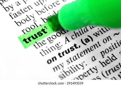 Trust, Business, Reliability.