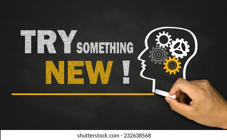 try something new concept on blackboard