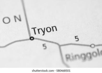 Tryon. Nebraska. USA