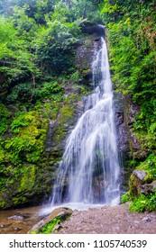 Tsablnari waterfall, Mtirala national park, Batumi, Georgia