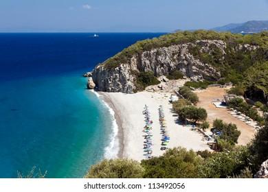 Tsambou beach, Samos, Greece