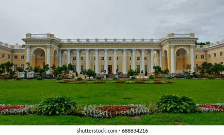Tsarskoe Selo, Russia - June 23, 2010: The Alexander Palace