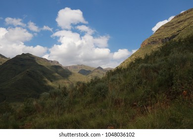 Ts'ehlanyana National Park in Lesotho.