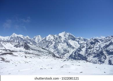 Tserkori, the top of the Langtang Trek