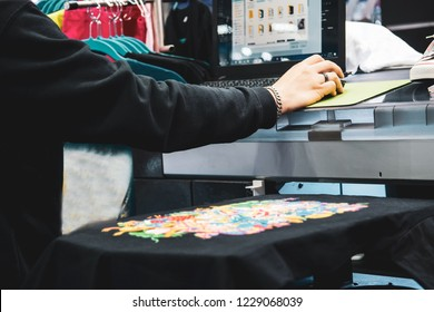 T Shirt Printing Machine High Res Stock Images Shutterstock