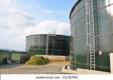 Tank a Biogas Plant Images, Stock Photos & Vectors | Shutterstock