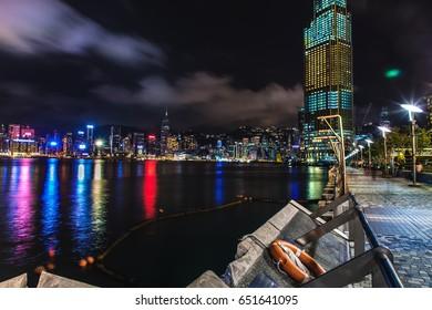 Tsim Sha Tsui promenade - Hong Kong