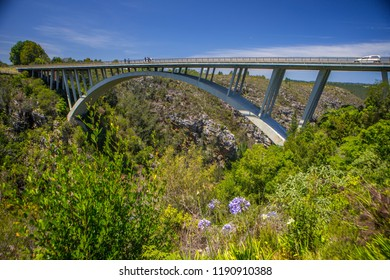 Tsitsikamma, Bloukrans Bridge.  Western Cape, South Africa