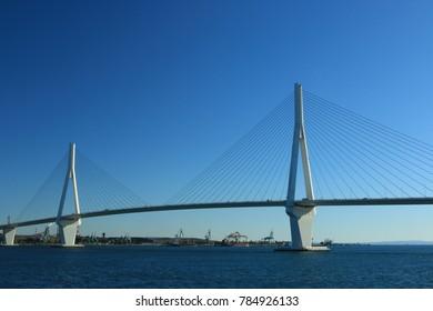 Tsubasa bridge in Yokohama