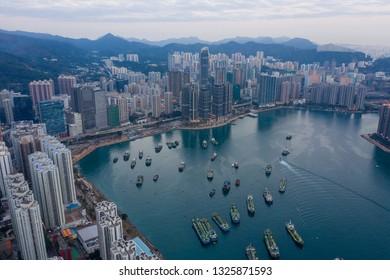 Tsuen Wan, Hong Kong 12 February 2019: Hong Kong city