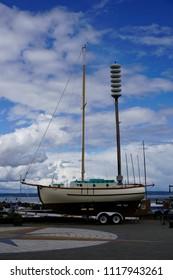 Tsunami siren at Port Townsend Washington