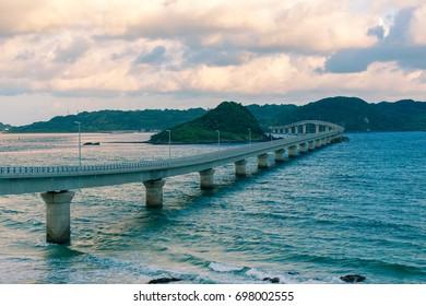 Tsunoshima Bridge, Yamaguchi prefecture, Japan