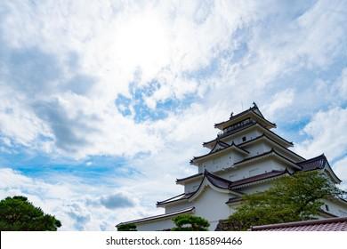 tsuruga castle japan