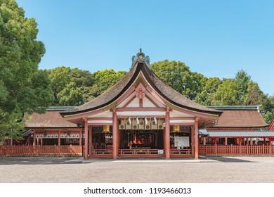 Tsushima jinja shrine in Aichi, Japan